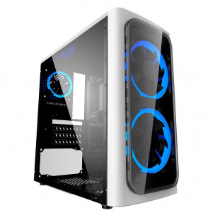 Gabinete Gamer XWise Discovery, Mid Tower, 2x FAN Frontal, Lateral em Acrílico - 6623