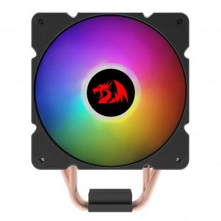 Cooler para Processador Redragon Air Cooler Effect ARGB 120mm, AM4, Preto - CC-2000