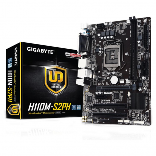 Placa Mae Gigabyte H110M-S2PH DDR4 LGA1151