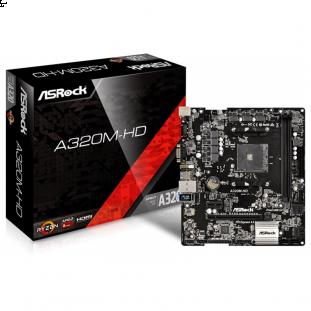 Placa mãe ASROCK A320M-HD DDR4 AM4