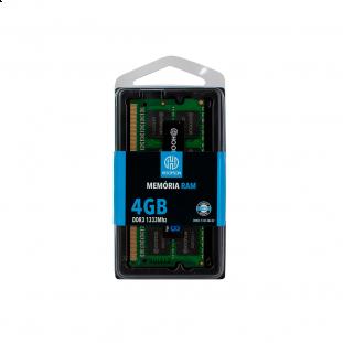 Memória Notebook DDR3 4GB 1333Mhz Hoopson
