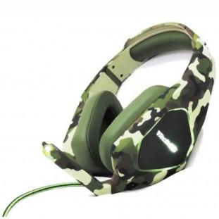 Headset Gamer TecDrive P3 PX-8 Caçador Camuflado Verde OEM