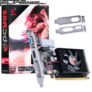 Placa de Vídeo PCYes AMD Radeon R5 230, 2GB, DDR3 - PA230R56402D3LP