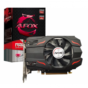Placa de Vídeo Afox Radeon, RX 550 4GB, GDDR5, 128Bit, AFRX550-4096D5H4-V4