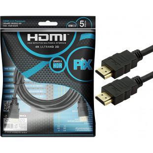 Cabo HDMI 2.0 Hoopson 5 Metros HDMI-004-5