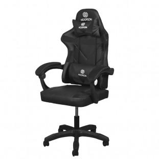 Cadeira Gamer Giratória com Braço Preto Hoopson - CG-507