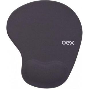 Mousepad Gel Confort OEX MP-200 Cinza