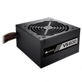 Fonte Corsair VS600, 600W, 80 Plus White - CP-9020224-BR