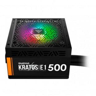 Fonte Gamdias, Kratos E1, 500W, ADD-RGB, GD-Z500ZZZ