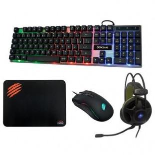 Combo Argos OEX Teclado/Mouse/MousePad/Headset TM-304